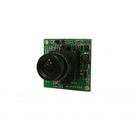 CamCarte - Caméra Carte pour intégration avec objectifs 2.9, 3.6 ou 4.3 mm